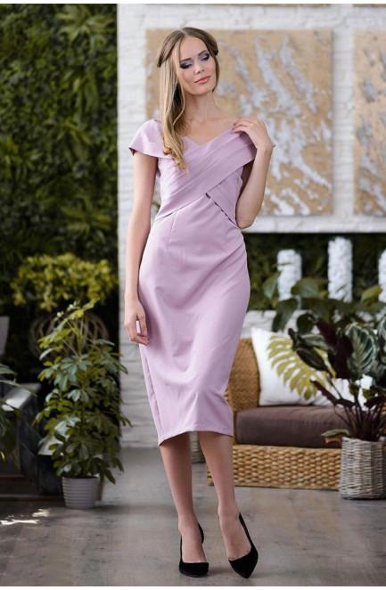 Женское платье пудра 119010L