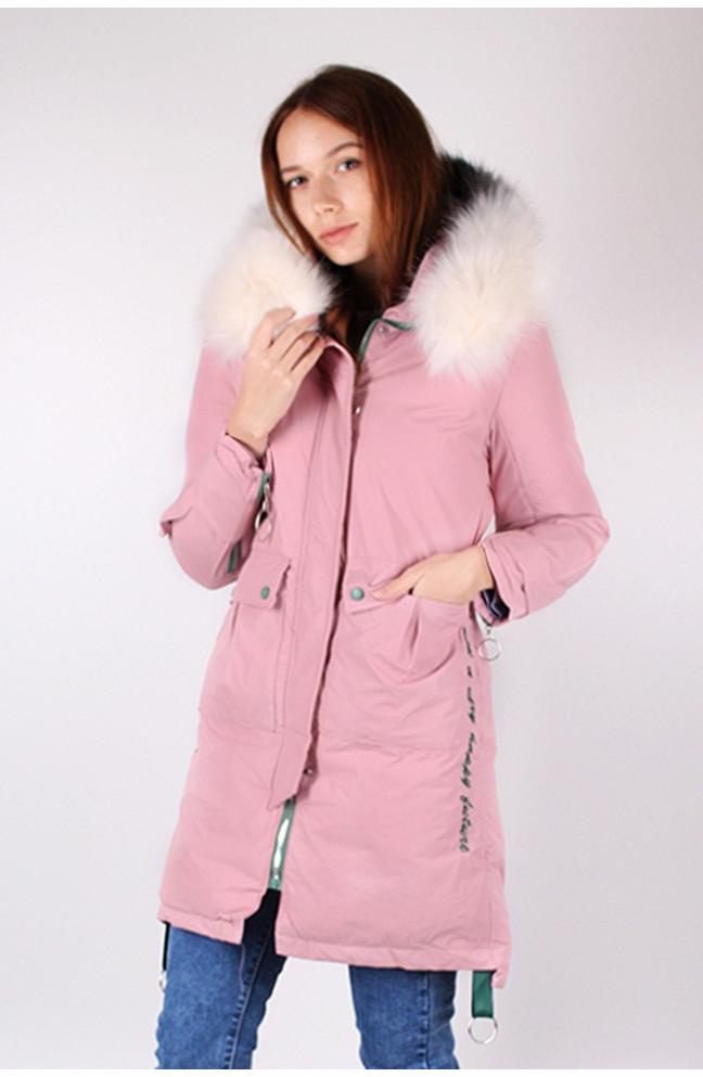 Куртка женская пудра 121700L