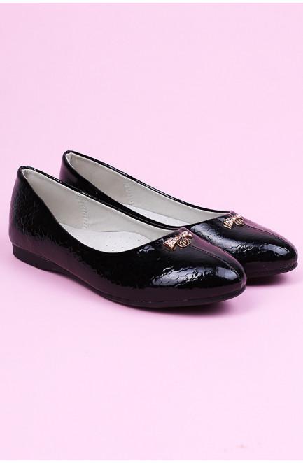Туфли детские черные 124347L