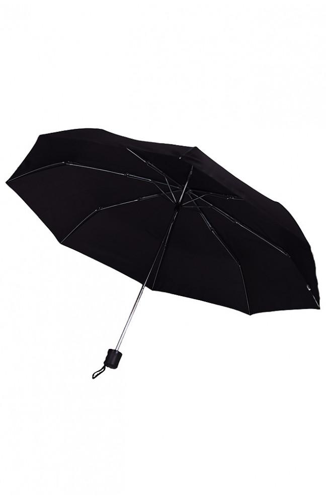 Зонт черный механика 127175L