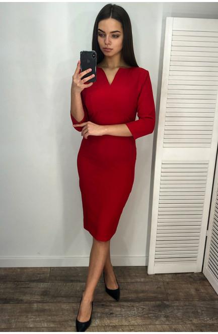 Платье женское красное 127275L