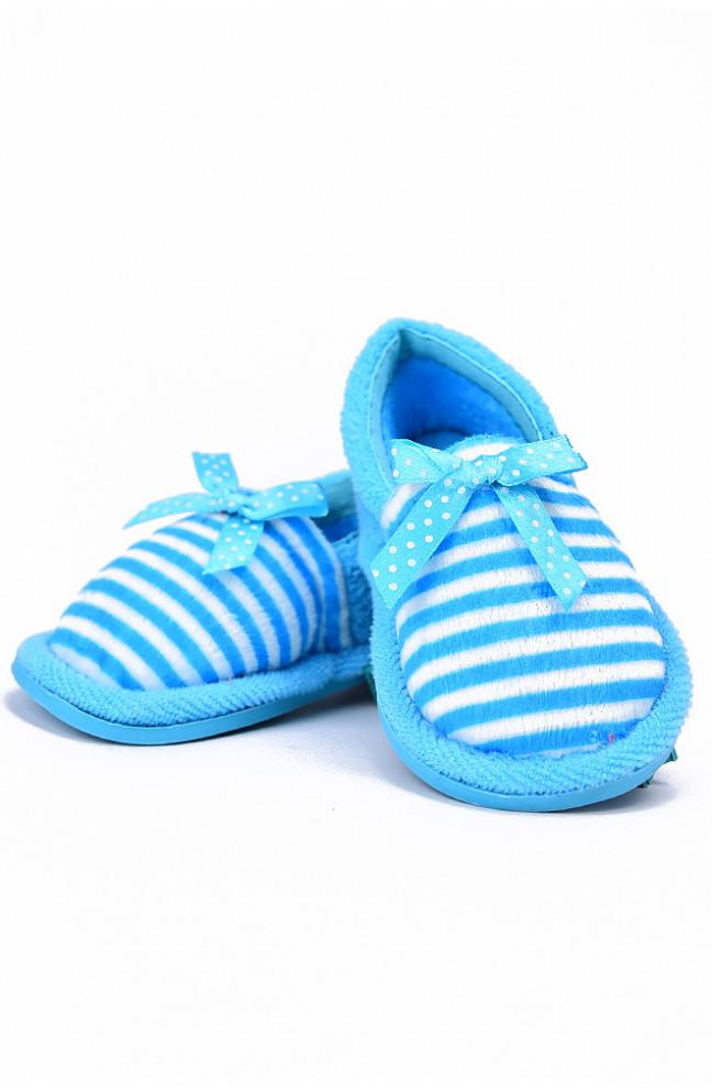 Детские тапочки голубые 128168L