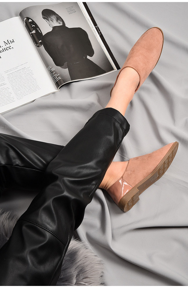 Туфли женские пудра 129130L