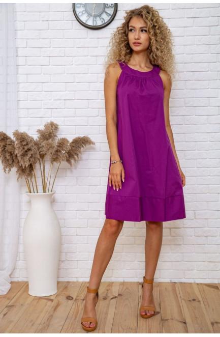 Женское платье сиреневое 119020L
