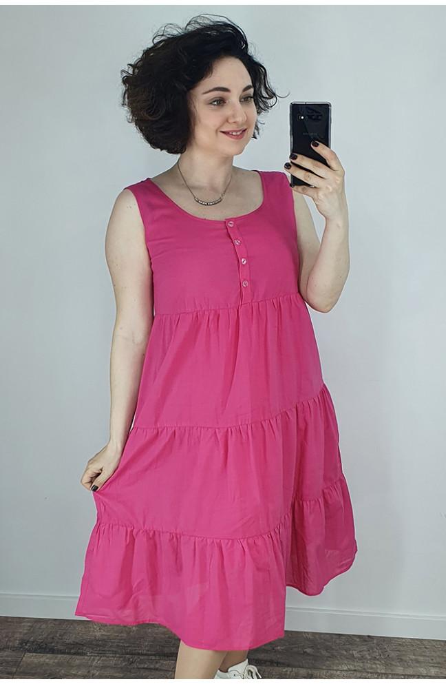 Платье женское малиновое 121900L