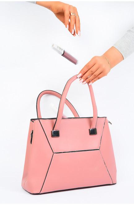 Сумка женская розовая 123317L