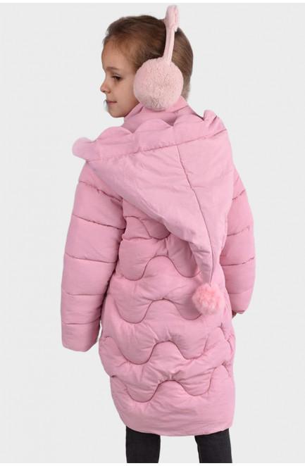 Куртка детская розовая 125756L