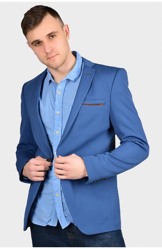 Пиджак мужской светло-синий размер 56 128322L