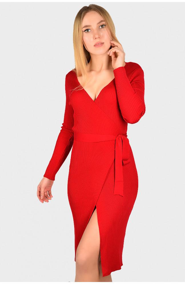 Кардиган женский красный размер 42-44 129427L