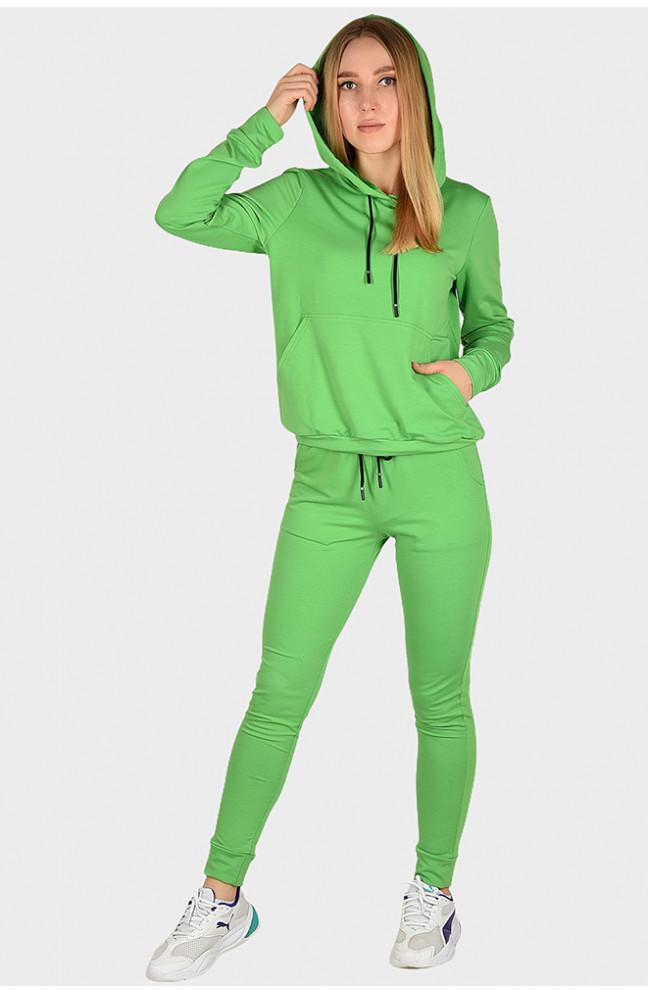 Спортивный костюм женский зеленый 129938L