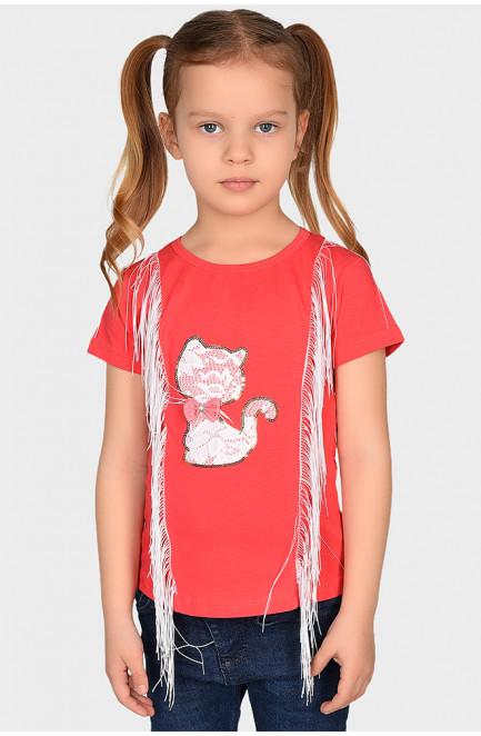 Футболка детская девочка розовая 130309L