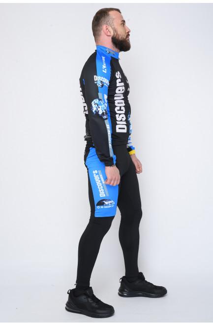 Велокостюм мужской тёплый 132122L